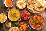 assorted india food cuisine