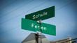 Schild 345 - Ferien