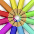 Colorful Pencil - 3D