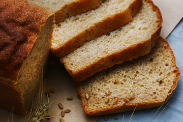 bread with millet