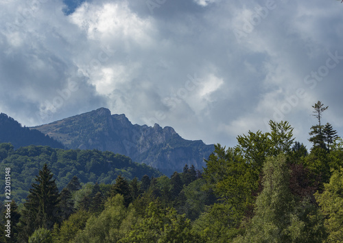 mountains west of Sinaia, Romania