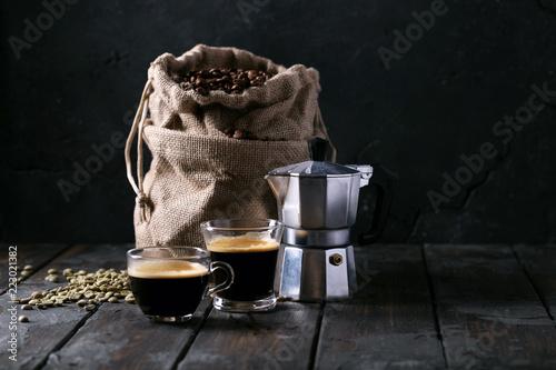Fresh espresso coffee - 223021382