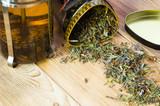 Herbal tea with a teapot - 223022582