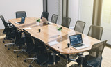 conference room on downtown interior business office - 223028379
