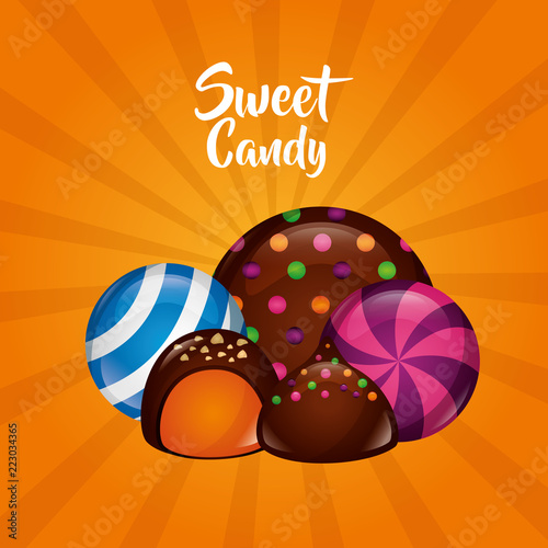 sweet candy concept - 223034365
