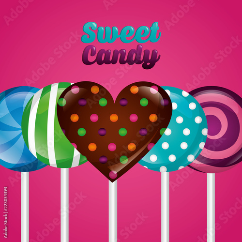 sweet candy concept - 223034393