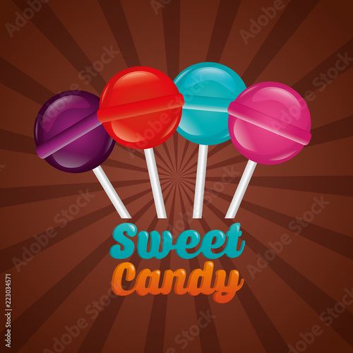 sweet candy concept - 223034571
