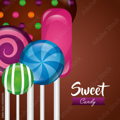 sweet candy concept - 223035352