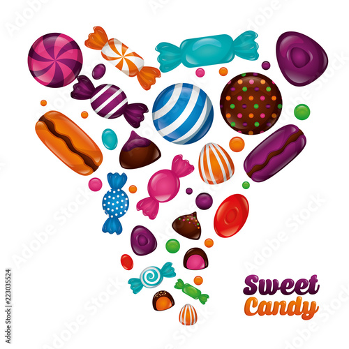 sweet candy concept - 223035524