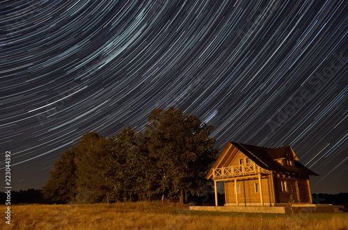 Foto Murales Noc pod gwiazdami