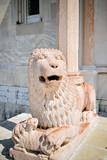 Marble lion of the protiro of the Duomo of Ancona - 223045733