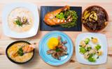 Set of Norwegian dishes - 223047551