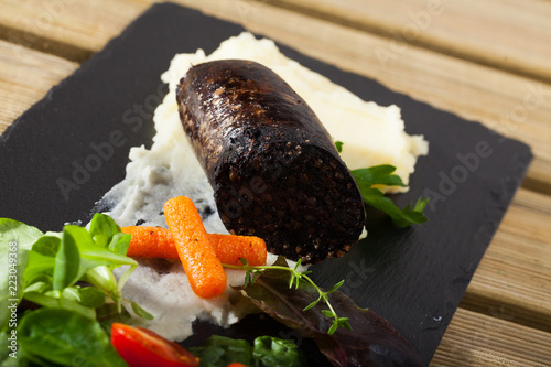 Black pudding with rice - 223049368