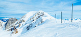 beautiful top veiw of  mountains