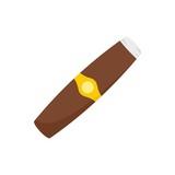 Luxury cuba havana icon. Flat illustration of luxury cuba havana vector icon for web design