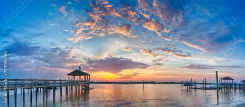 Sound Side Sunset - 223085368
