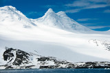 Beautiful view of the iceberg in Antarctica