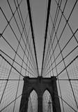 Brooklyn Bridge New York BW - 223136714