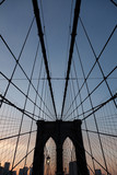 Brooklyn Bridge in color - 223136747