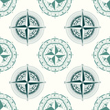 Seamless pattern with compass rose  for your design - 223138728