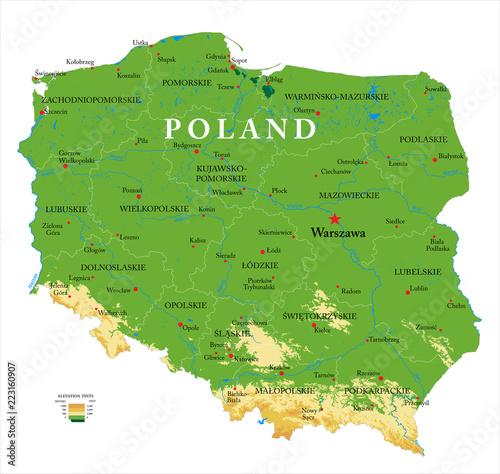 Polska mapa ulg