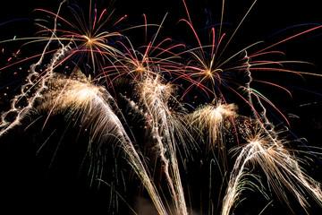 Fireworks Display at Night © Max
