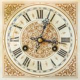 Ancient ornamental clock