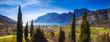 Leinwanddruck Bild - Gardasee, Italien