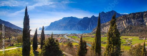 Leinwanddruck Bild Gardasee, Italien