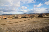Anatolian landscape and village