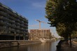 Europacity Berlin; Ein neues Stadtquartier wächst am Berlin-Spandauer-Schifffahrtskanal (September 2018)