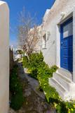 Greece. Mykonos. Typical architecture. - 223216152