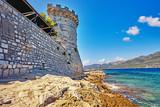 Historic architecture old town in Croatia, popular touristic destination in Mediterranean, Croatia Europe - 223219911