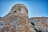 Historic architecture old town in Croatia, popular touristic destination in Mediterranean, Croatia Europe - 223220153