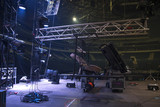 Preparing the stage for a concert - 223225529