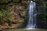 The waterfall in Ngare Ndare Forest, Nanyuki, Kenya