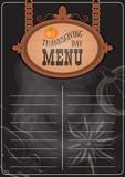 Thanksgiving Day Menu - 223235520