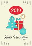 Happy New Year Card - 223235700