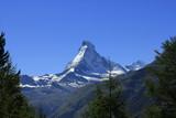 Matterhorn in den schweizer Alpen