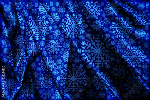 ... snow fairy cloth blanket. white snowflakes winter background frosty blue  best authentic dd2ed f669c ... c3c8b35cd