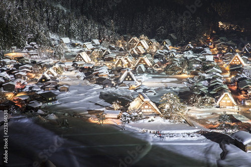 冬の白川郷