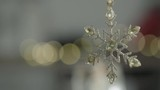 Star Christmas decoration with bokeh background. Lovely Christmas feel and mood. - 223299397