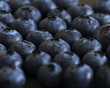 Close up on a bunch of blueberries - 223315387
