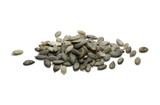 Pumpkin seeds isolated on white background - 223324933