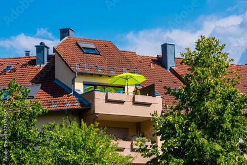 Mehrfamilienhaus-Eigentumswohnung-Immobilie