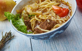 Uyghur Xinjiang-style noodle soup - 223329706