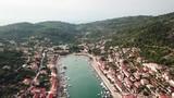 Vela Luka on island Korcula in Croatia. - 223337317