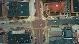 Ariel view of a rural town. - 223349169