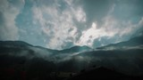 Motion timelapse mountain clouds Austria - 223353785