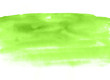 Leinwandbild Motiv Green watercolor background, shades of paint. Paper texture.